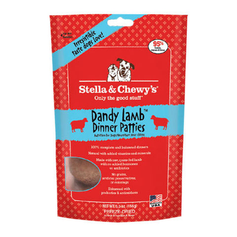 Stella & Chewy's Freeze Dried Dandy Lamb Dinner Patties