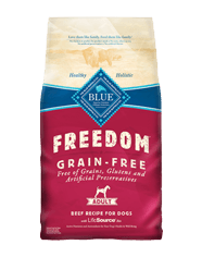 BLUE Freedom Grain-Free Adult Beef Dry Dog Food