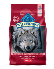 Blue Wilderness Adult Salmon Grain Free Dry Dog Food