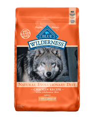 Blue Wilderness Large Breed Adult Chicken Dry Dog Food