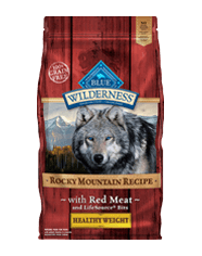 Blue Wilderness Adult Healthy Weight Red Meat Dry Dog Food