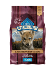 Blue Wilderness Rocky Mountain Red Meat Puppy Bison Dry Dog Food