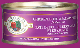 Fromm Chicken, Duck, & Salmon Pâté Canned Cat Food
