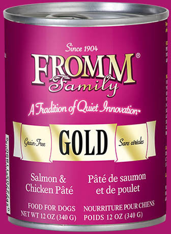 Fromm Salmon & Chicken Pâté Canned Dog Food