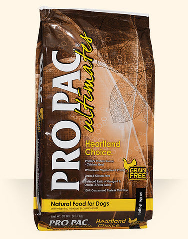 PRO PAC Ultimates Heartland Choice Dry Dog Food
