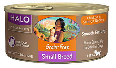 Chicken & Salmon Small Breed Grain Free Canned Dog Food