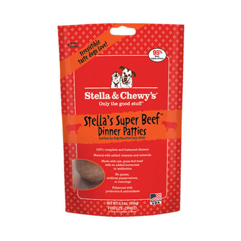 Stella & Chewy's Freeze Dried Super Beef Dinner Patties