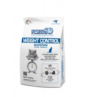 Forza10 Weight Control Active Dry Cat Food
