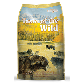 Taste of the Wild bag