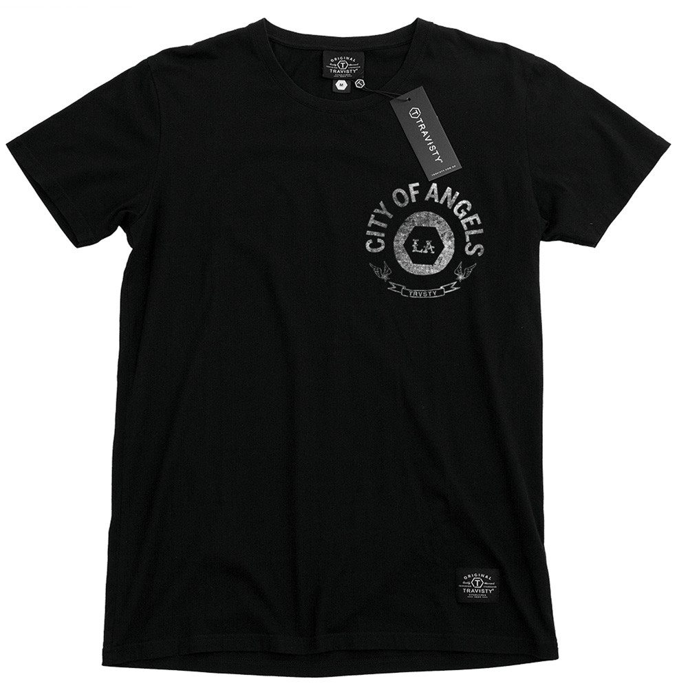 CITY OF ANGELS Tee (Black) Travisty Men's Clothing