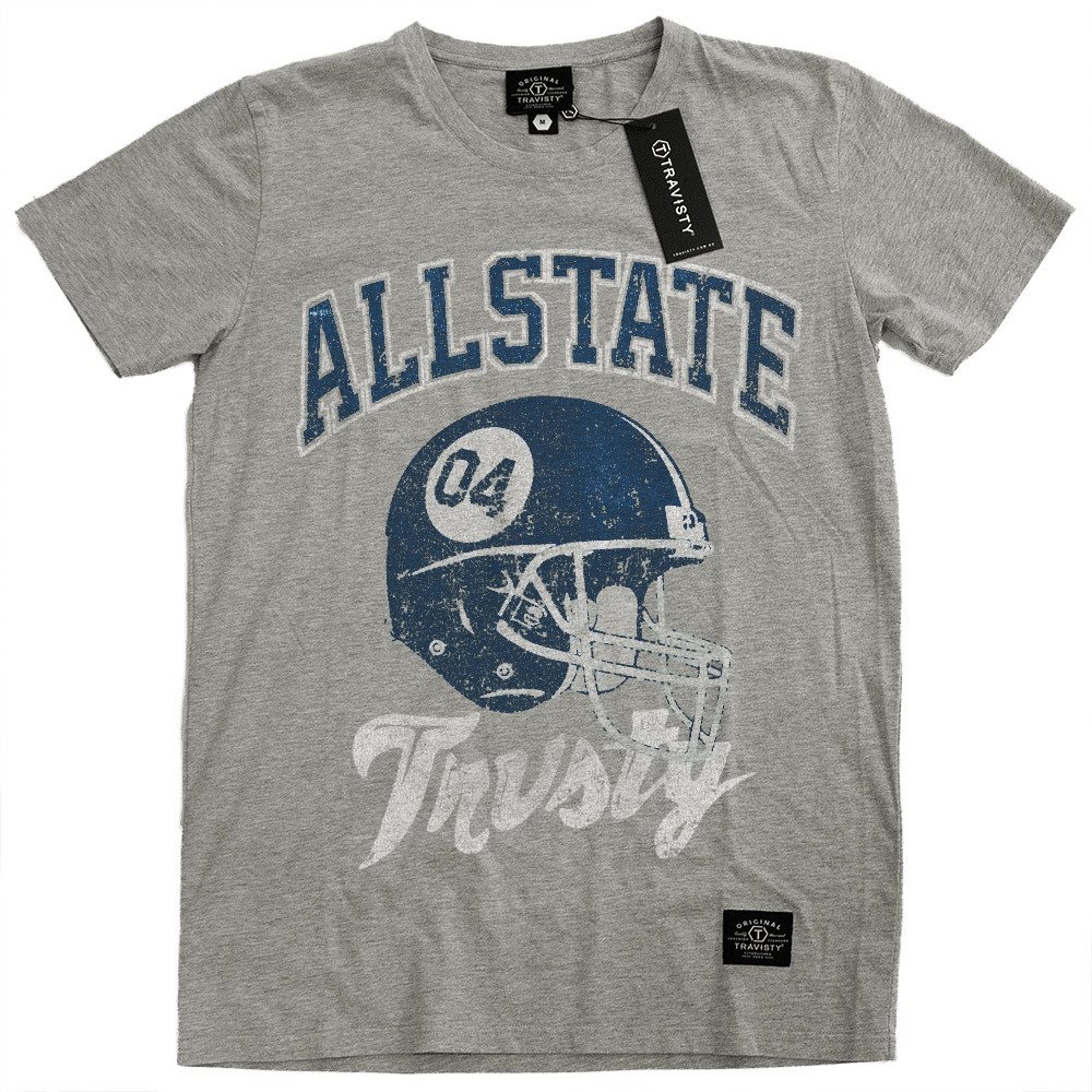 ALLSTATE Tee (Grey Marle) Travisty Men's Clothing