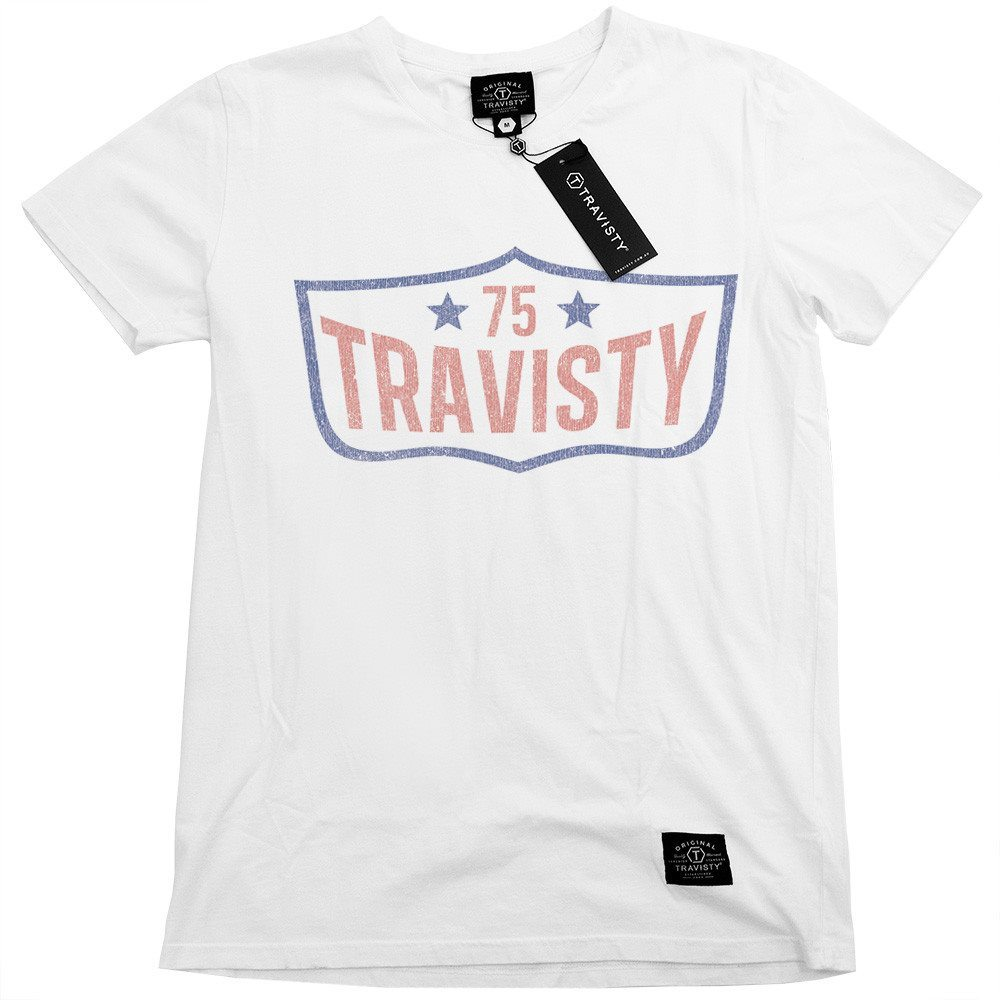 75 TRAVISTY Tee (White) and Trucker (Black) Travisty Men's Clothing