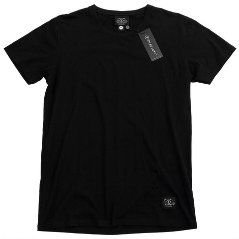 TRAVISTY BASICS Tee (Black) Travisty Men's Clothing