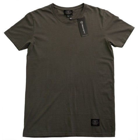 TRAVISTY BASICS Tee (Charcoal) Travisty Men's Clothing