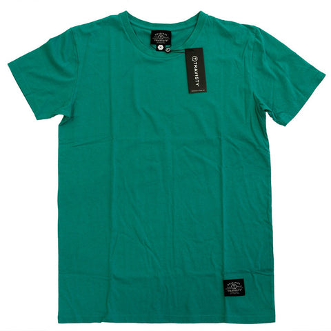 TRAVISTY BASICS Tee (Green) Travisty Men's Clothing