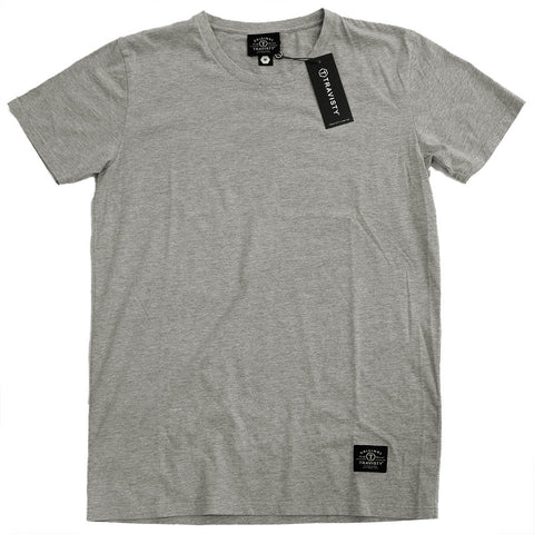TRAVISTY BASICS Tee (Grey Marle) Travisty Men's Clothing