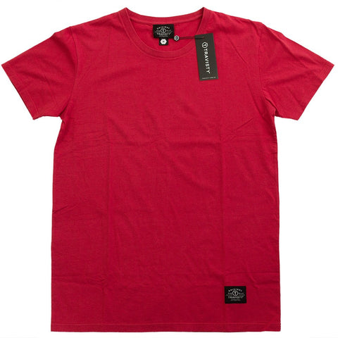 TRAVISTY BASICS Tee (Red) Travisty Men's Clothing