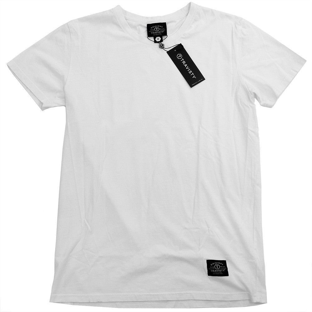 TRAVISTY BASICS Tee (White) Travisty Men's Clothing