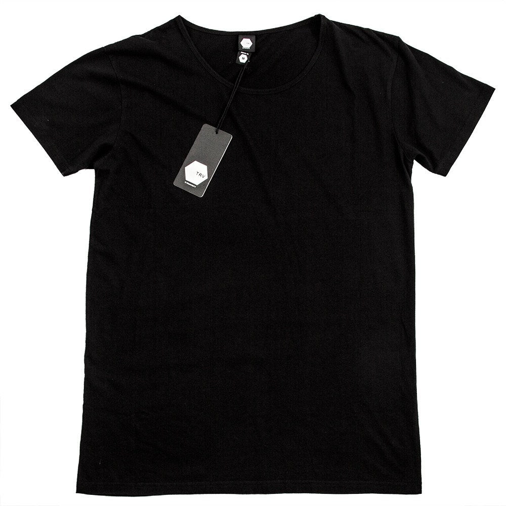TRV BASICS Tee (Black) Travisty Men's Clothing