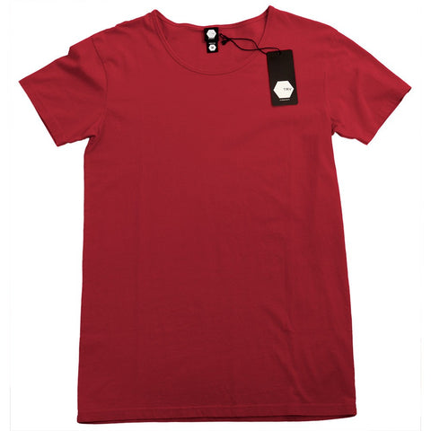 TRV BASICS Tee (Red) Travisty Men's Clothing