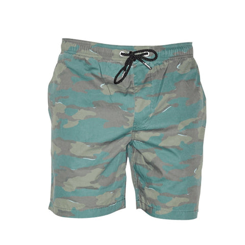 TRV SWIM SHORTS (Green Camo) Travisty Men's Clothing