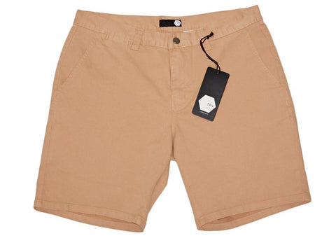 TRV CHINO SHORTS (Tan) Travisty Men's Clothing