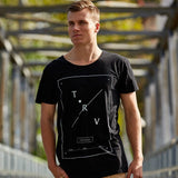TRV CROSSROADS Tee (Black) Travisty Men's Clothing
