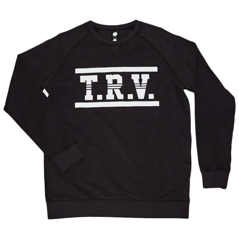 TRV CUSTOM Crew (Black) Travisty Men's Clothing
