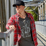 TRV DEER HUNTER Flannel (Red/Black) Travisty Men's Clothing