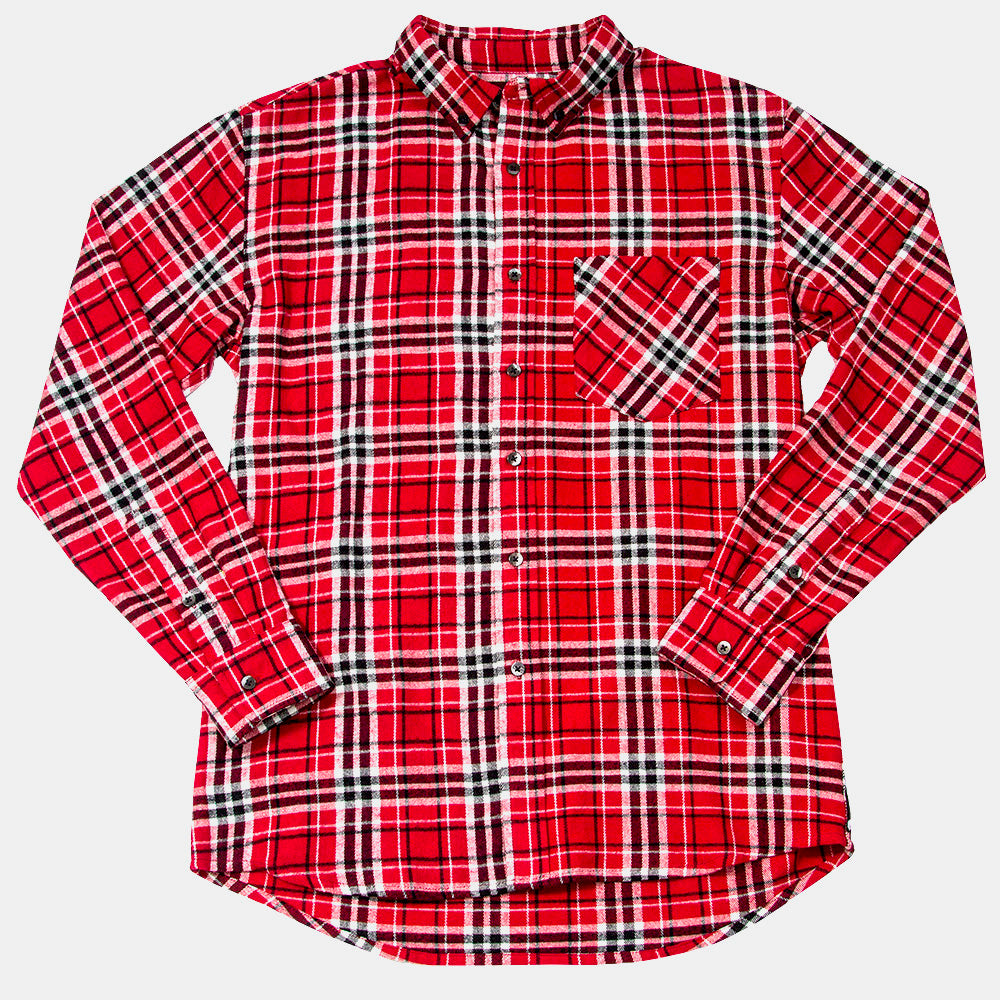 TRV DEER HUNTER Flannel (Red/Black)