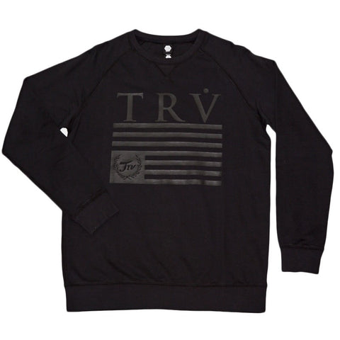 TRV HERITAGE Crew (Black) Travisty Men's Clothing