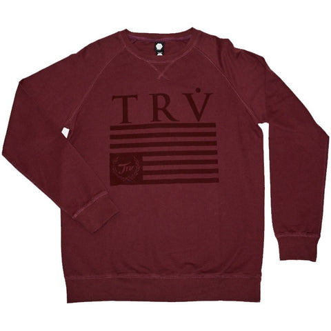 TRV HERITAGE Crew (Maroon) Travisty Men's Clothing