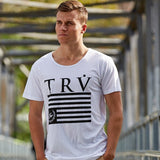 TRV HERITAGE Tee (White) Travisty Men's Clothing
