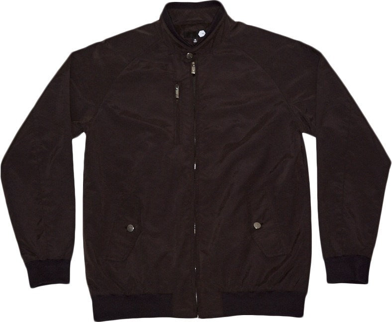 TRV PLATINUM BOMBER Jacket (Black) Travisty Men's Clothing