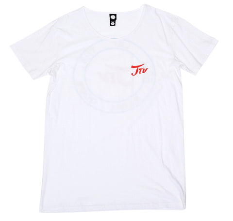 TRV LET THE GOOD TIMES ROLL Tee (White) Travisty Men's Clothing