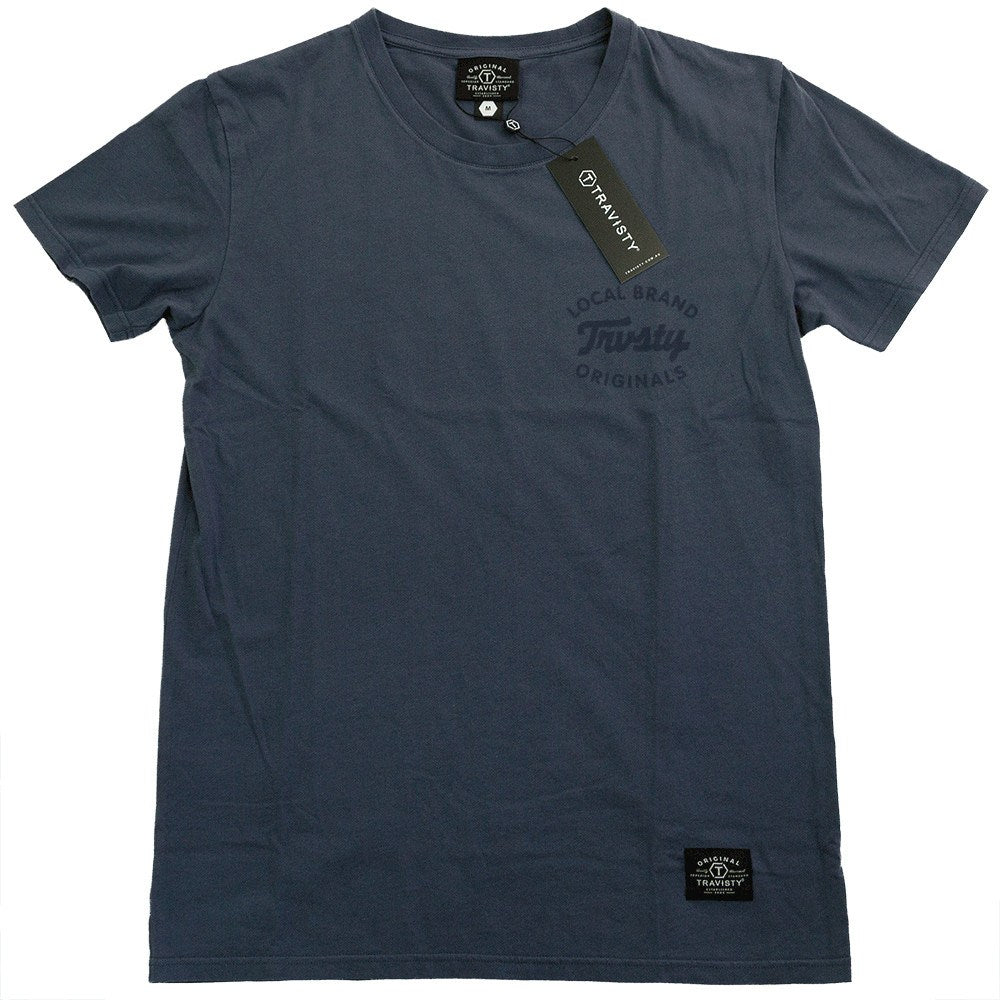 LOCAL BRAND Tee (Blue) Travisty Men's Clothing