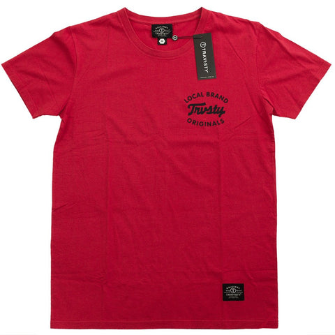 LOCAL BRAND Tee (Red/Black) Travisty Men's Clothing