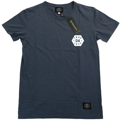 04 STAR Tee (Blue/White) Travisty Men's Clothing