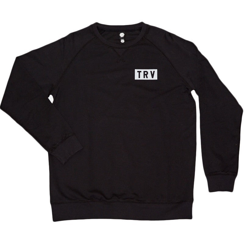 TRV BLOCK Crew (Black) Travisty Men's Clothing