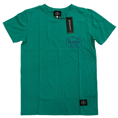 THE BRAND Tee (Green/Midnight) Travisty Men's Clothing