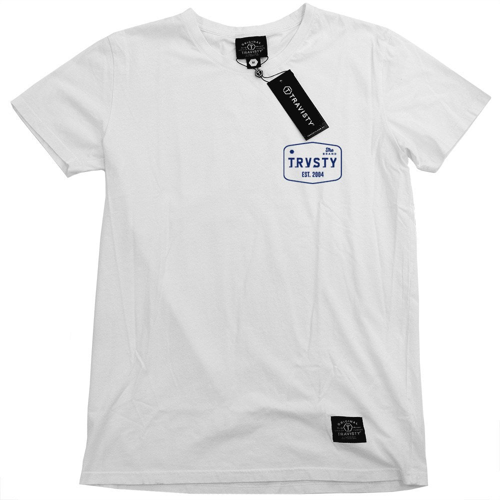 THE BRAND Tee (White/Midnight) Travisty Men's Clothing