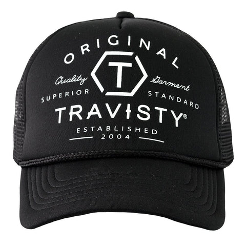 ORIGINAL TRUCKER (Black & White) Travisty Men's Clothing