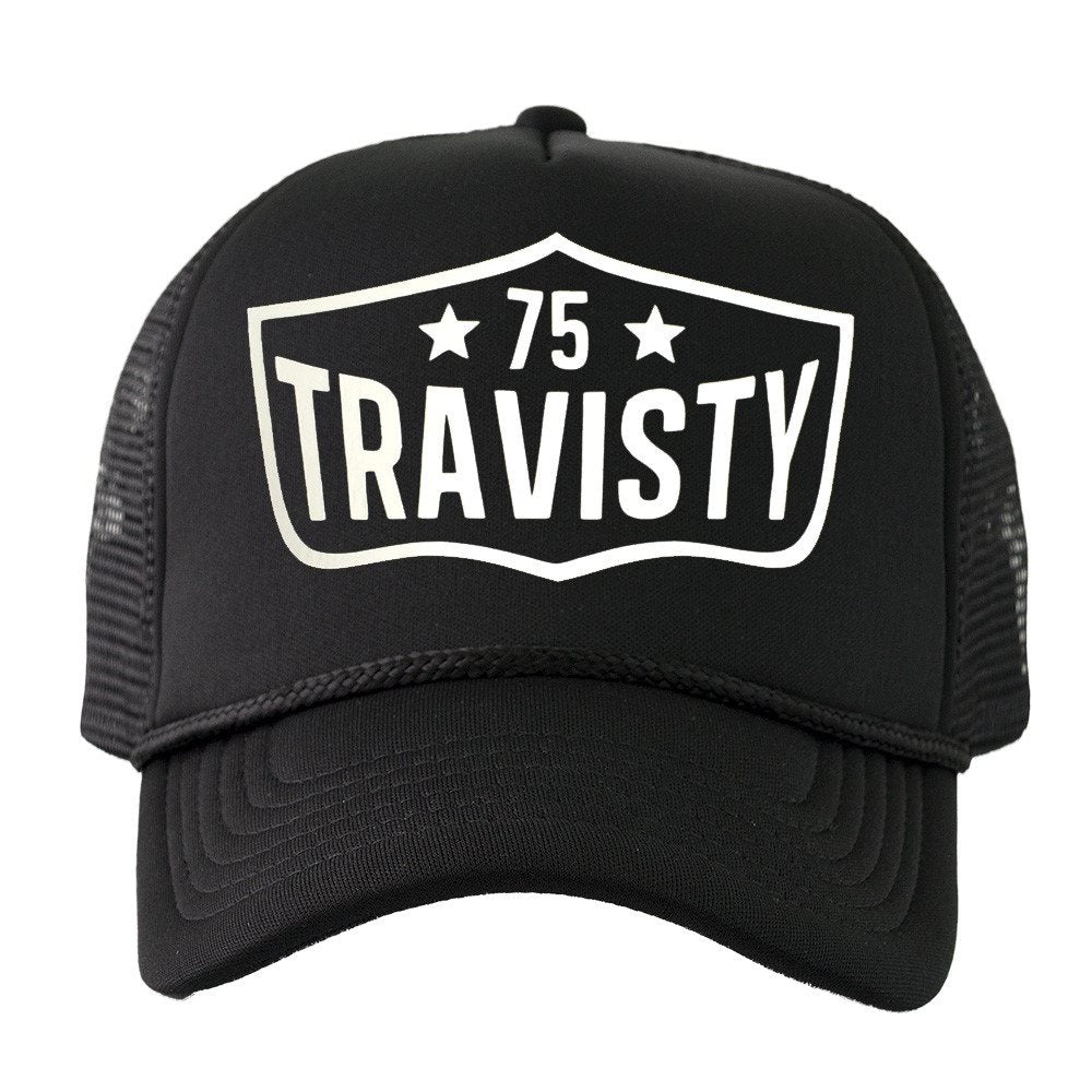 75 TRAVISTY Trucker (Black & White) Travisty Men's Clothing