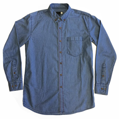 SHIRT - TRV GO EASY Shirt (Light Blue)