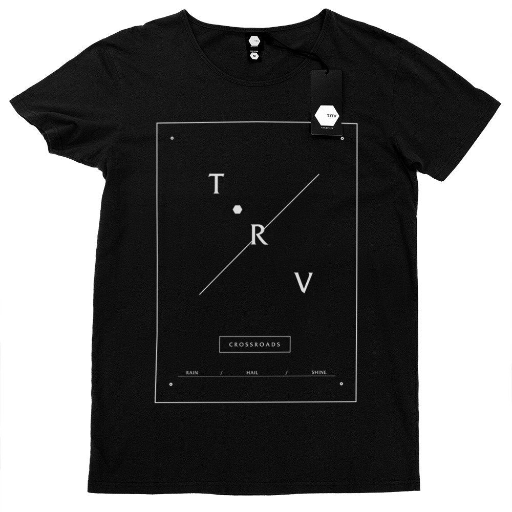 T SHIRT - TRV CROSSROADS Tee (Black)