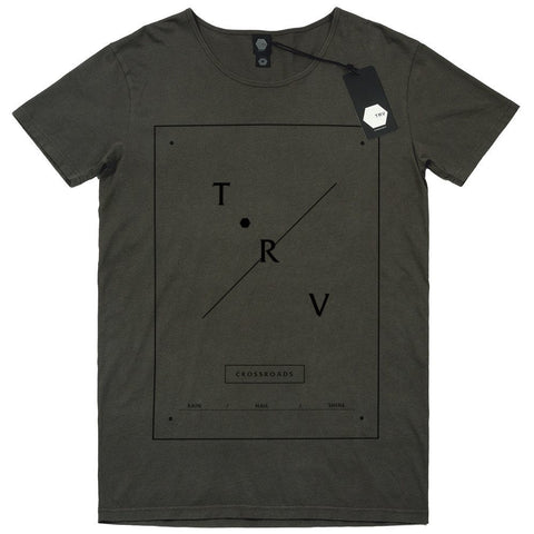 T SHIRT - TRV CROSSROADS Tee (Charcoal)