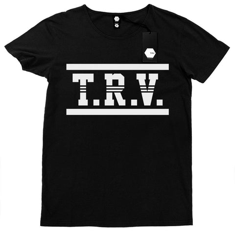 T SHIRT - TRV CUSTOM Tee (Black)