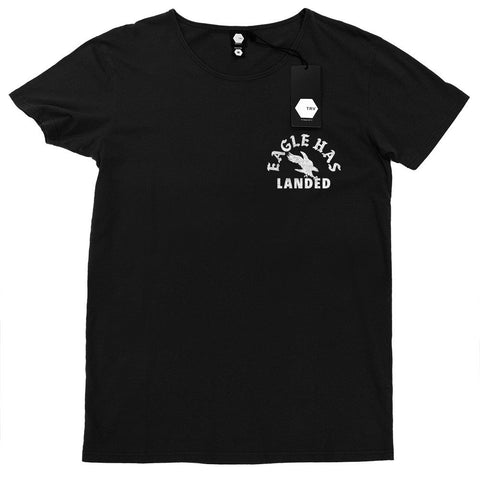 T SHIRT - TRV EAGLE HAS LANDED Tee (Black)
