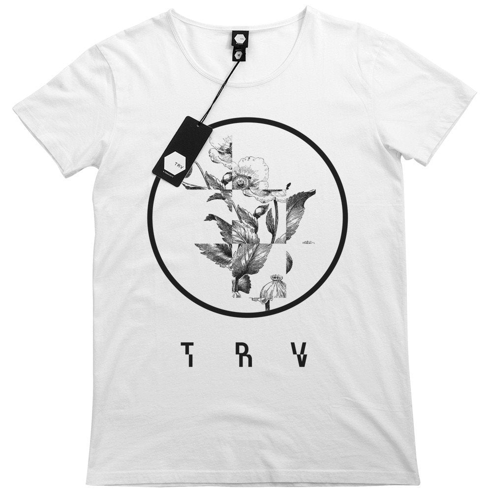 T SHIRT - TRV FRAGMENT Tee (White)