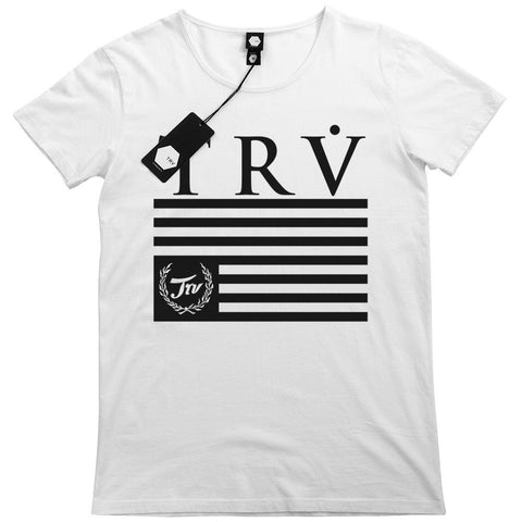 T SHIRT - TRV HERITAGE Tee (White)